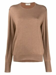 Ma'ry'ya sheer jumper - NEUTRALS