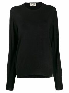 Ma'ry'ya sheer jumper - Black