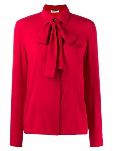 P.A.R.O.S.H. pussybow blouse - Red