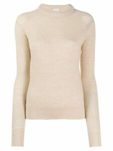 Forte Forte textured-knit jumper - NEUTRALS
