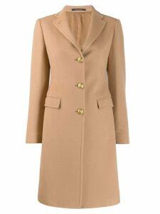 Tagliatore single-breasted coat - Brown