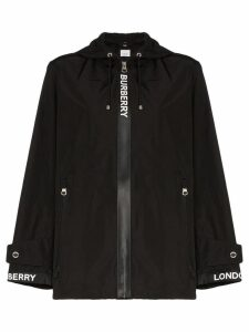 Burberry Everton logo-panelled jacket - Black