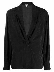 Loewe paisley buttoned top - Black