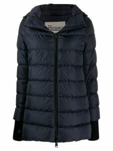 Herno shell puffer jacket - Blue