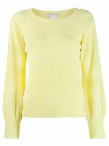 Société Anonyme crew neck jumper - Yellow