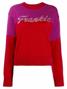 Frankie Morello logo pullover - PINK