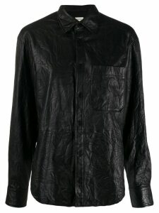Zadig & Voltaire leather shirt - Black