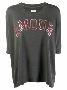 Zadig & Voltaire Amour T-shirt - Grey