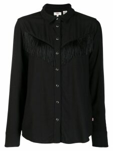Levi's fringed shirt - Black