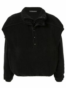 Y/Project oversized layered-effect sweatshirt - Black