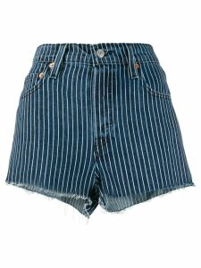 Levi's striped short shorts - Blue