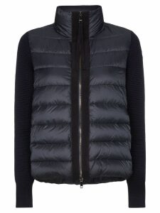 Moncler quilted gilet jacket - Blue