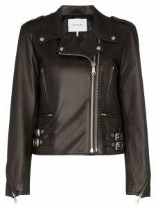 FRAME classic biker jacket - Black