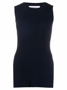 Enföld ribbed knit tank top - Blue