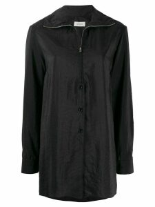 Lemaire zipped shirt - Black