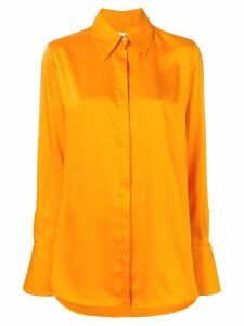Victoria Victoria Beckham classic shirt - ORANGE