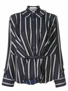 Palmer / Harding striped Rise shirt - Blue