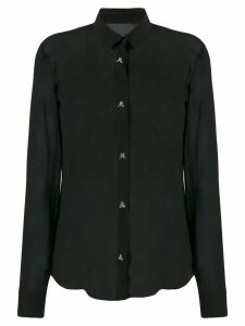 Philipp Plein sheer shirt - Black
