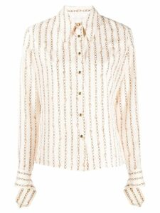 Chloé chain print shirt - White
