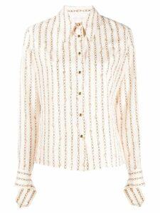 Chloé chain print shirt - White