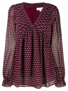 Michael Michael Kors graphic diamond top - PINK