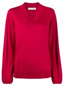 Fabiana Filippi V-neck jumper - Red