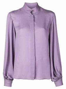 Nili Lotan wide sleeve blouse - PURPLE