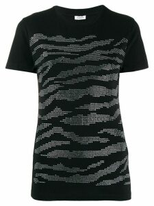 P.A.R.O.S.H. slim-fit embellished t-shirt - Black