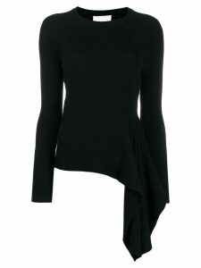 3.1 Phillip Lim draped knitted jumper - Black