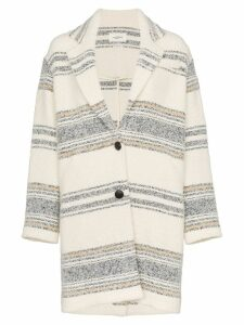 Isabel Marant Étoile Dante single-breasted coat - Neutrals