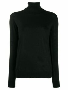 Erika Cavallini rollneck knit sweater - Black
