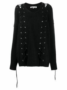 McQ Alexander McQueen stitch jumper - Black