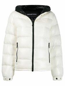 Duvetica hooded padded jacket - White