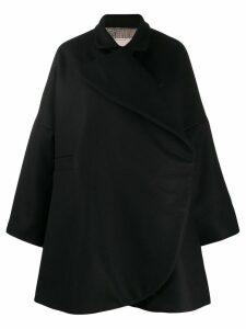 Antonio Marras wrap coat - Black