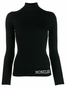 Moncler turtleneck jumper - Black