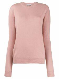 Jil Sander cashmere knit jumper - Pink