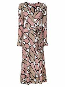 DVF Diane von Furstenberg printed wrap dress - Multicolour