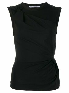 T By Alexander Wang twisted tank top - Black