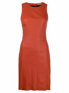 Drome sleeveless midi dress - Orange