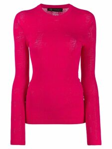 Versace slim fit knitted sweater - PINK