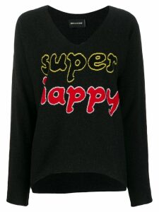 Zadig & Voltaire Super Happy knitted jumper - Black