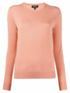 Theory crew neck pullover - PINK