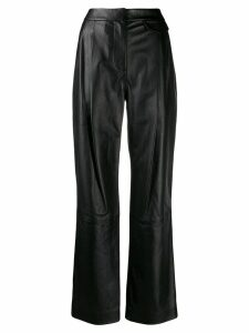 3.1 Phillip Lim high-rise wide-leg trousers - Black