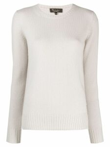 Loro Piana round neck jumper - NEUTRALS