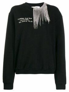 Circus Hotel oversized sweatshirt - Black