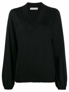 Fabiana Filippi V-neck jumper - Black