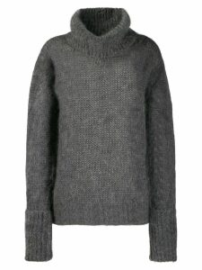 Prada chunky knit sweater - Grey
