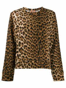 Nº21 animal print sweater - Brown
