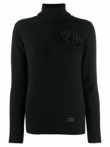 be blumarine roll neck sweater - Black
