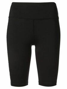 Aje side logo fitted shorts - Black
